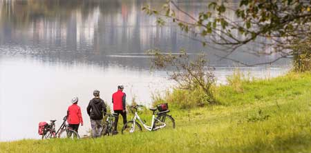 Impressionen - Radwanderweg Aartalseeradweg (24 km)