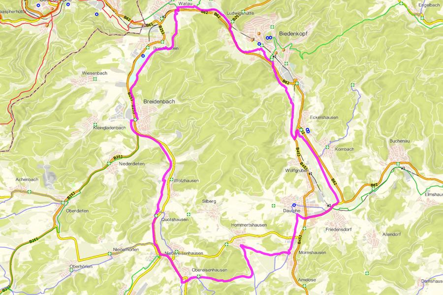 Radwanderweg Rotary-Hinterland-Tour (35 km)