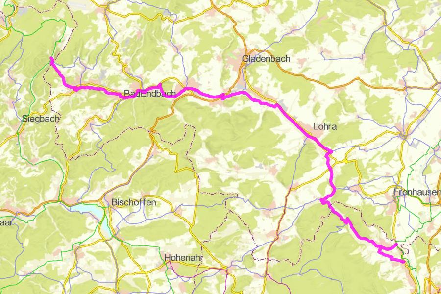 Radwanderweg Salzböderadweg (30 km)