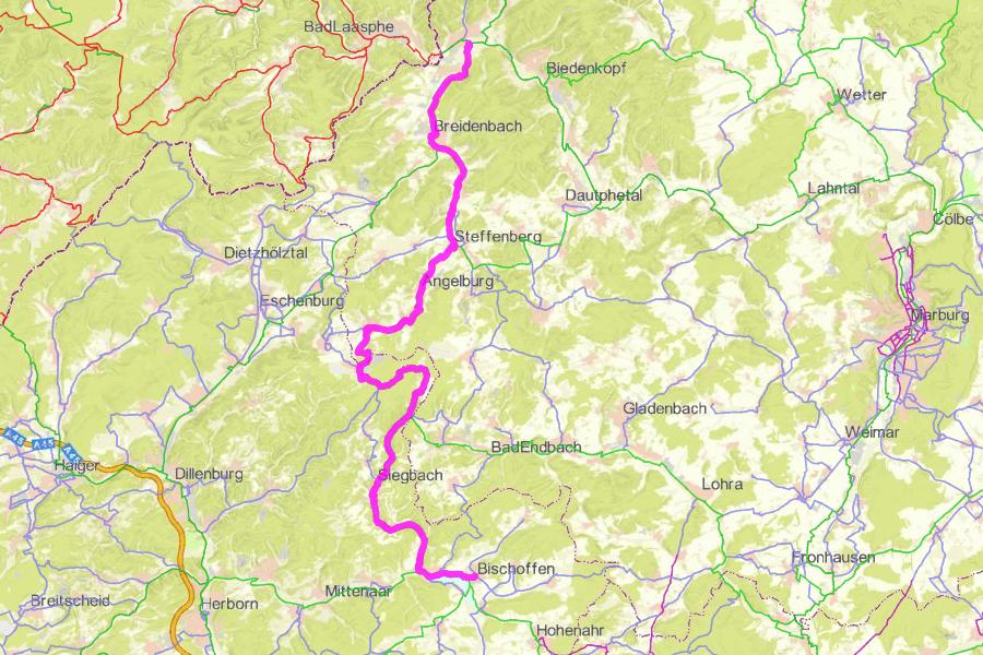 Radwanderweg Seenradweg (44 km)