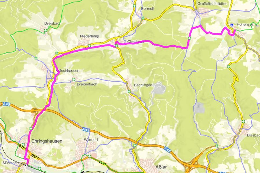 Radwanderweg Lemptalradweg (17 km)